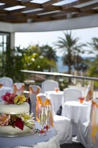 Louis Ledra Beach - Weddings Reception Veranda