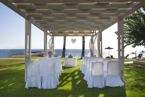 Louis Ledra Beach - Weddings Gardens & Beach Gazebo